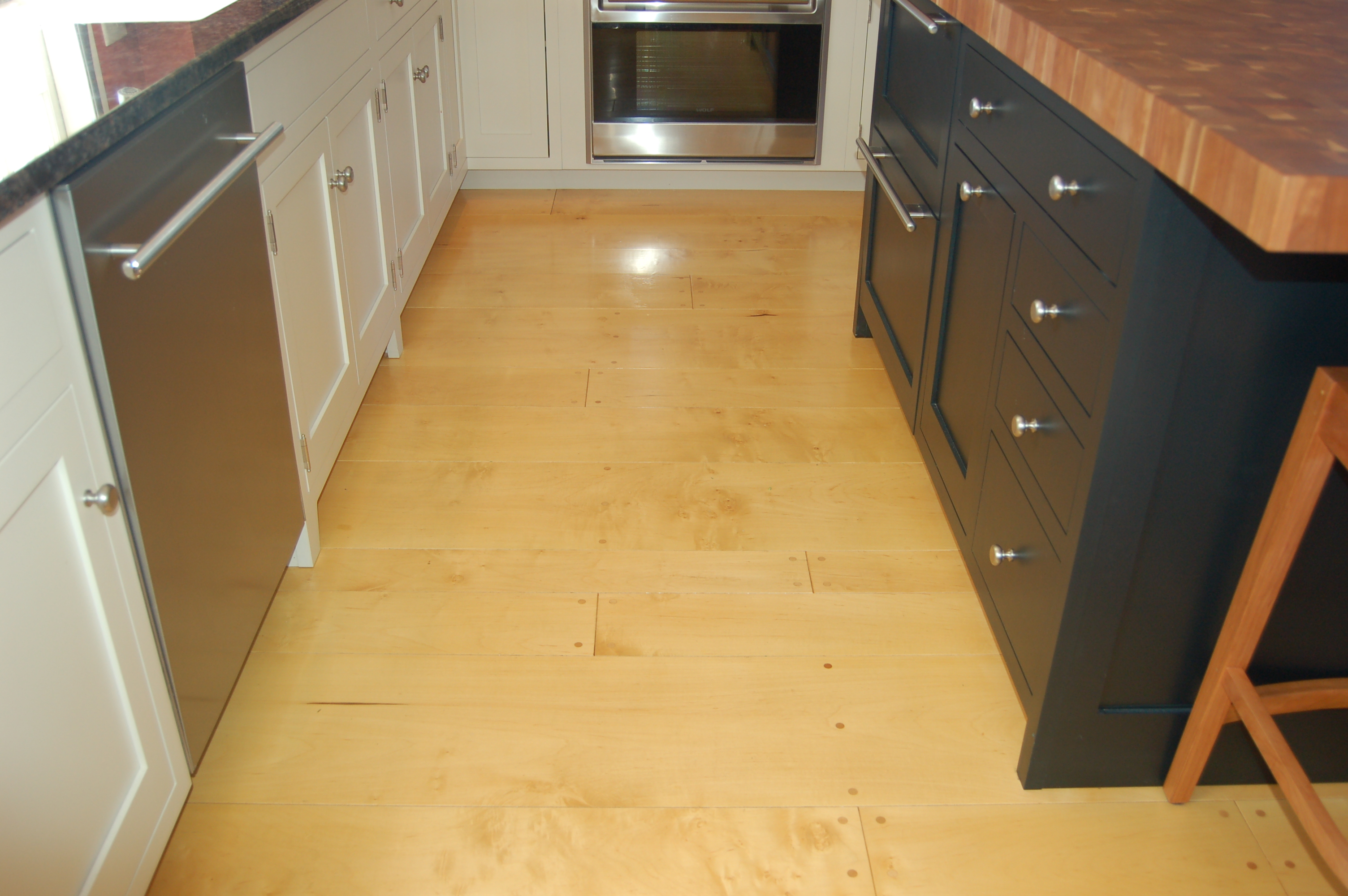 Maple Wide Plank Flooring
